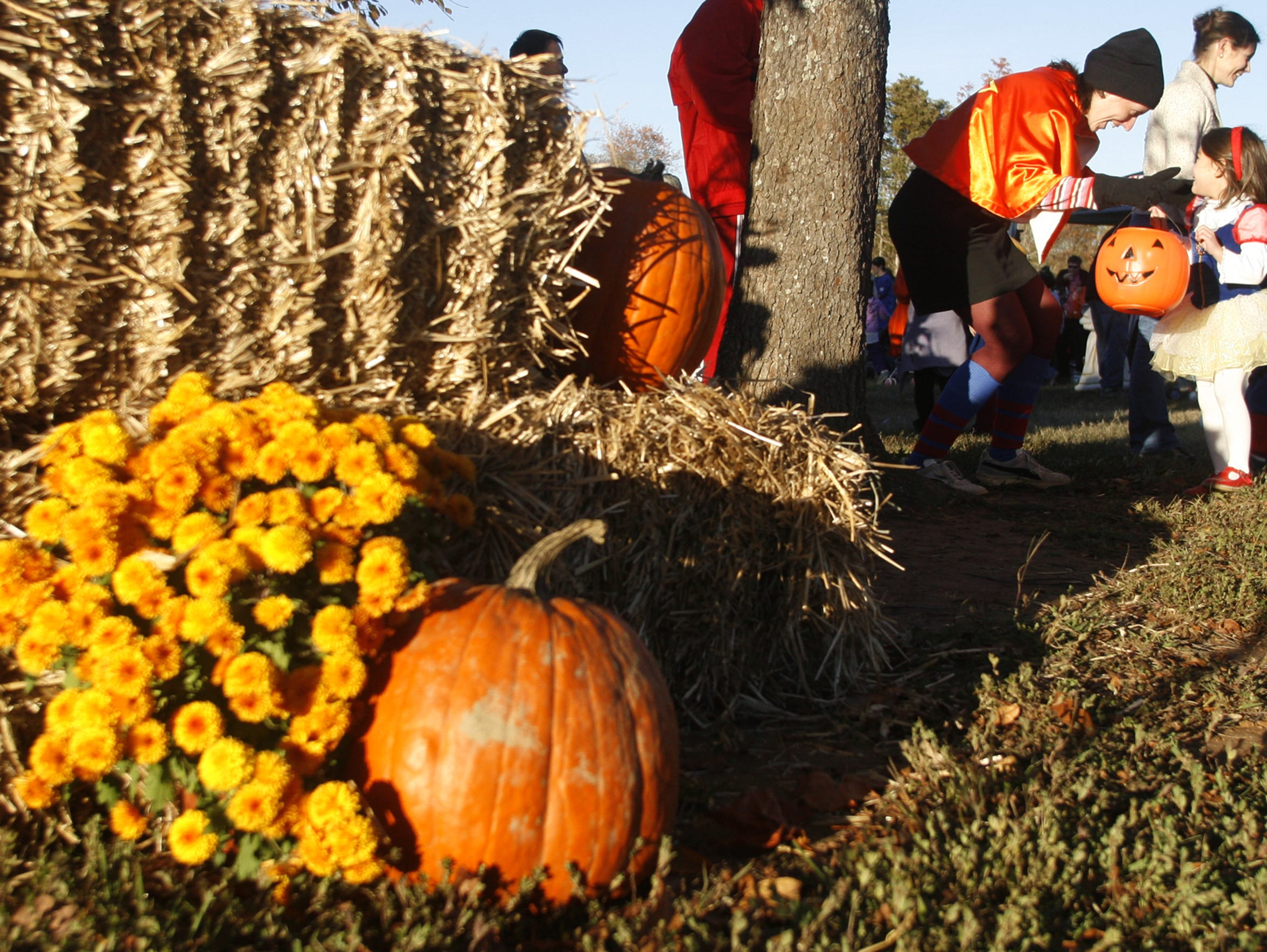 Kids can enjoy all sorts of fall fun at Smyrna Parks