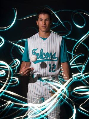 Lyon Richardson of Jensen Beach High School, all-area baseball finalist.