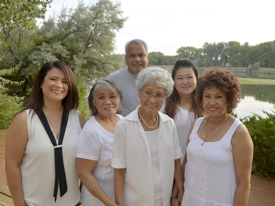 Board members of Fil Am Great Falls, the newly formed