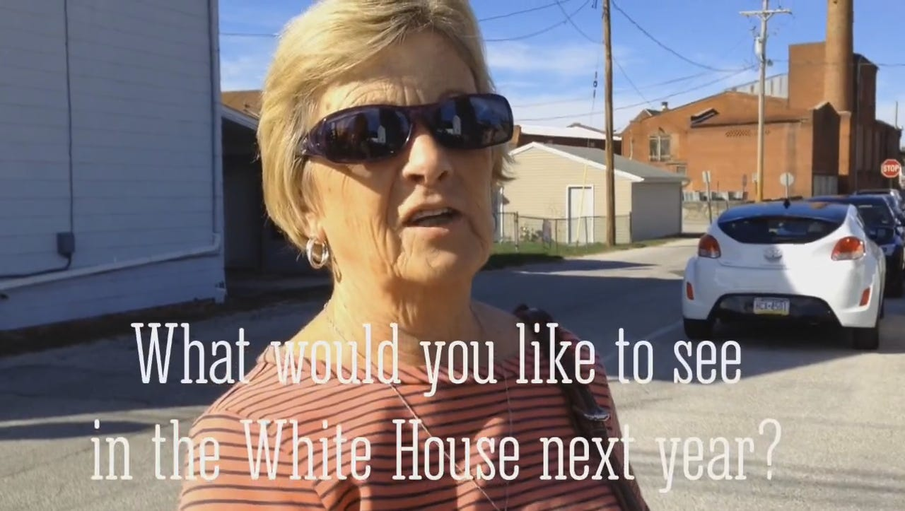 Watch: What would you like to see in the White House next year?