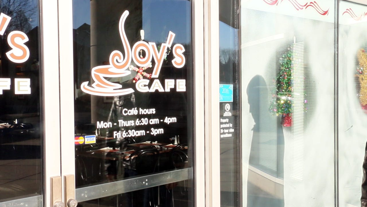 Watch: Making soup at Joy's Cafe