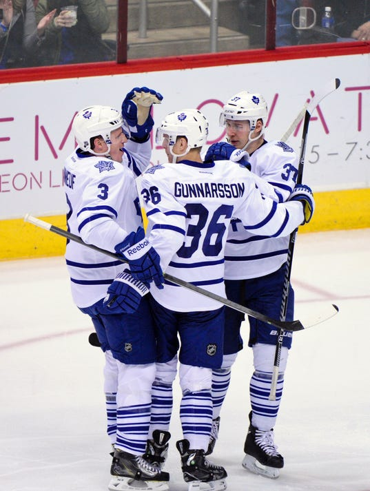 2014-1-20 Maple Leafs beat Coyotes