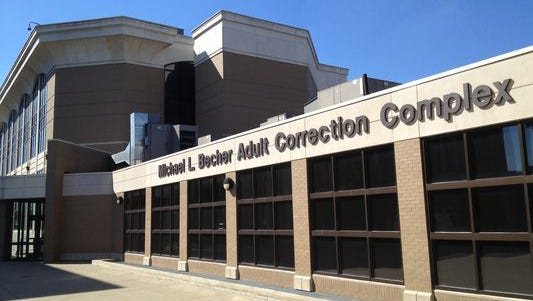 Michael L. Becher Adult Correction Complex in Clark County, Indiana.