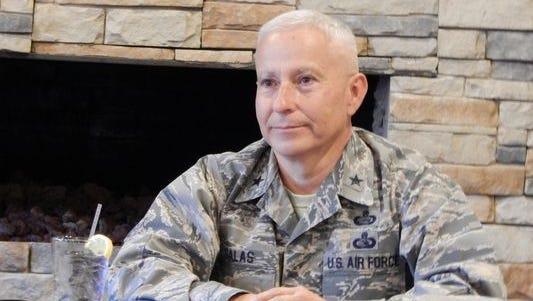 Brigadier Ge. Andrew Salas will speak to Republican women Monday.
