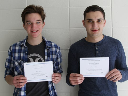 Hamilton National Merit Finalists