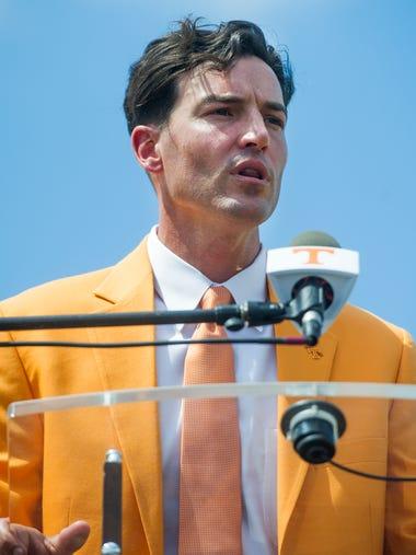 Tony Vitello, the new University of Tennessee baseball