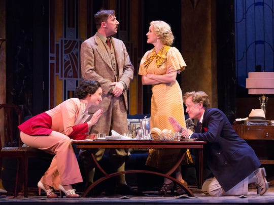 'Private Lives' is onstage at the Walnut Street Theatre through March 1.