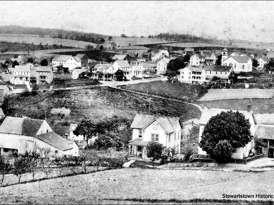 An interesting post card showing a bird's-eye view of Felton.  The postcard was postmarked 1917. DAILY RECORD/SUNDAY NEWS - SUBMITTED