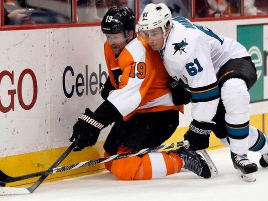 Sharks Flyers Hockey