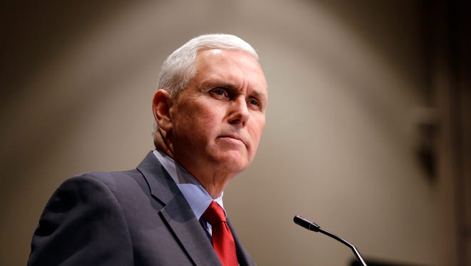 The office of Indiana Gov. Mike Pence put together plans for setting up a taxpayer- funded news agency run by the state.