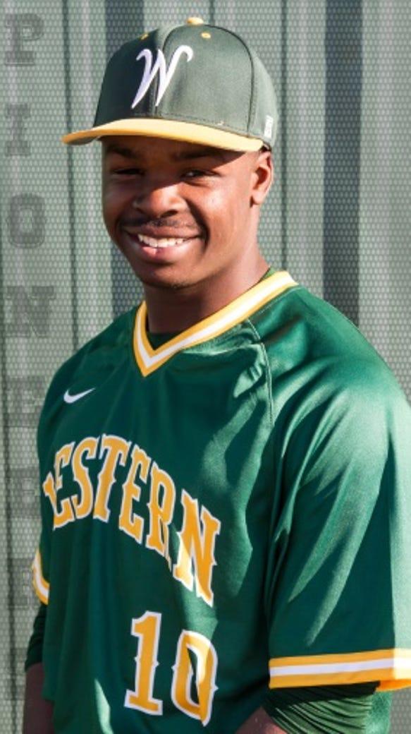 Western Oklahoma State catcher Joshua Anthony, one