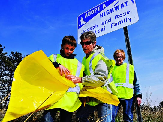 You can Adopt a Highway through county or state programs.