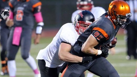 Brion Anduze was a standout tight end for Central Kitsap.