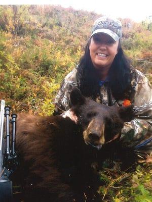 Lisa Kinser got this black bear on Sept. 15 just northwest of Thompson Falls.