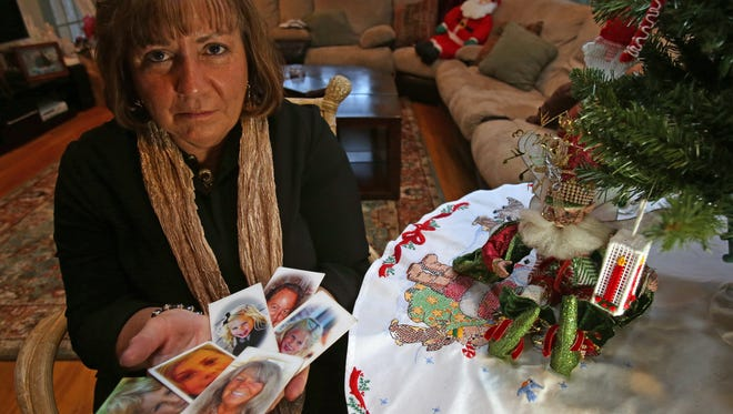 Dobbs Ferry resident Sher Grogg lost six members of her family - her brother, sister-in-law and their four grandchildren - in a fire caused by an overly dry Christmas tree in January 2015. Grogg talks about the importance of fire safety with Christmas trees at her home on Dec. 14, 2016.