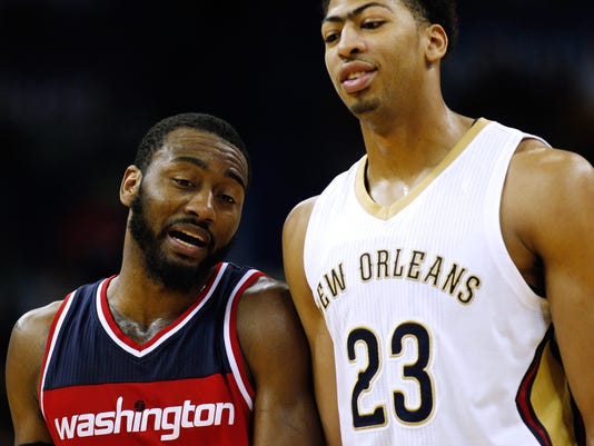 John Wall, Anthony Davis