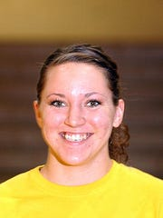 Former Deckerville and SC4 volleyball player Ashley