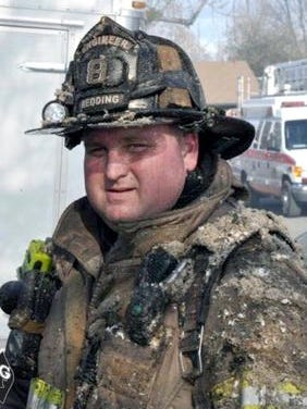 A public memorial service was held Saturday for 37-year-old Redding firefighter Jeremy Stoke who died in the line of duty during the Carr Fire.