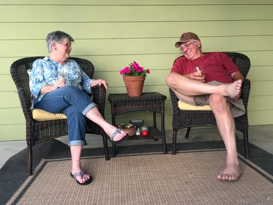 Barry and Judy Box will celebrate their 50th wedding anniversary in rural Llano County where they enjoy retired living.