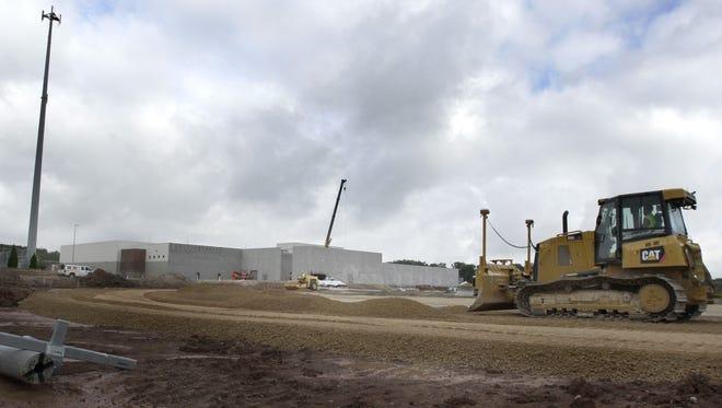 Construction of Kaukauna High School's new sports complex is underway.