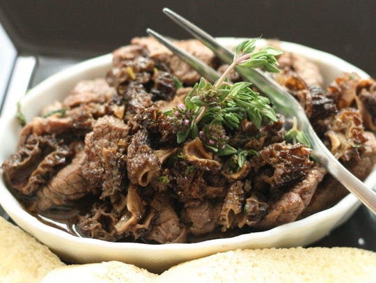 Steak and mushrooms go together well and the same can