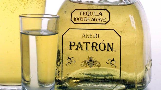 Patron Añejo Tequila.