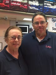 Keith and Judy Sparks have owned Sally's Old Fashioned Hamburgers in the Kaleidoscope at the Hub for 21 years. Their last day is Nov. 28.