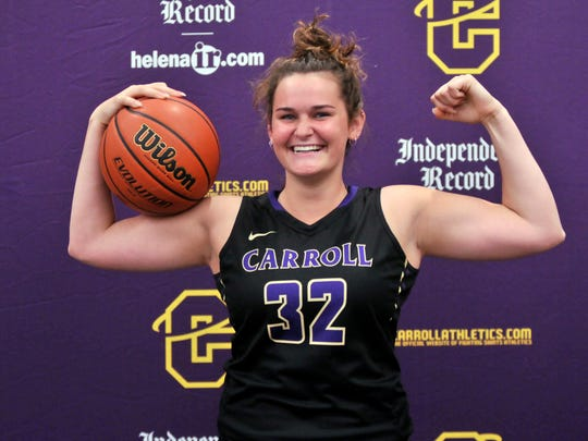 Emma Madsen has overcome the adversity of a knee injury that cost her much of her high school sports career and is excited to join the Carroll College basketball program.