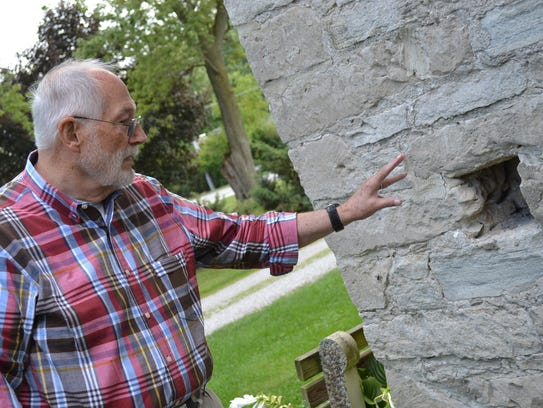 Paul Moon explains notches, a longtime mystery, in