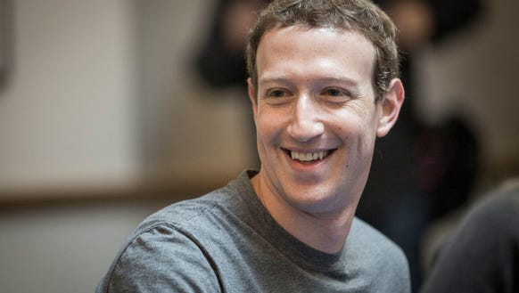 Facebook CEO Mark Zuckerberg has been tapped to be