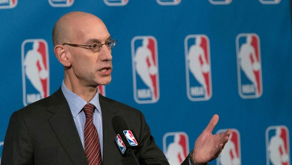 NBA Commissioner Adam Silver supports the legalization