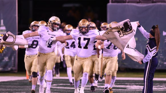 From 2016: Old Tappan takes the field at MetLife Stadium