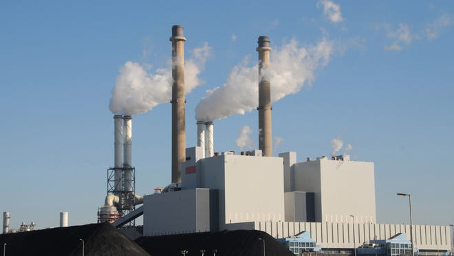 A coal-fired powerplant. Louisiana is scheduled to move forward with a clean power plan that has been put on hold by the Supreme Court.