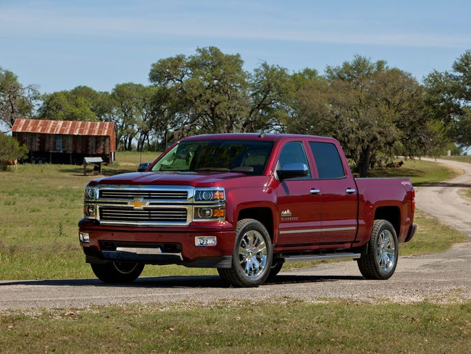 The 2014 Chevrolet Silverado High Country is a new luxury model introduced by Chevrolet at the 2013 State Fair of Texas.