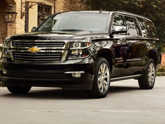 The Chevrolet Suburban will be redesigned.