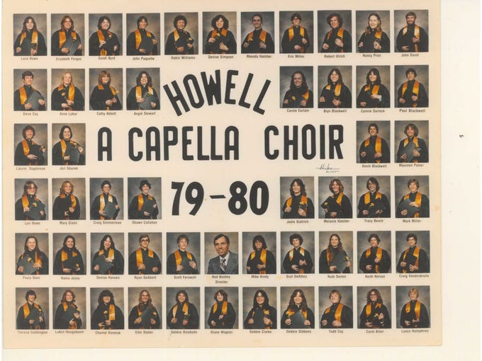 Howell High School A Cappella Choir 1979-1980
