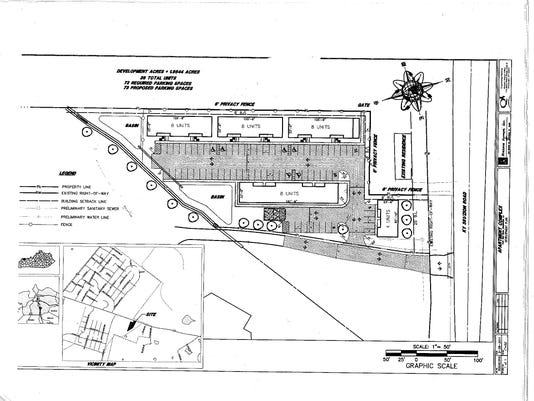 Apartment Site Plan