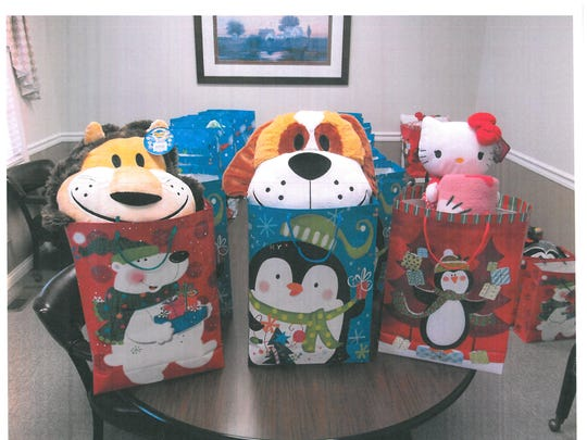 Carpenter Realtors supply gift bags to be distributed