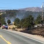 Wildfire forces evacuation along Airport Road