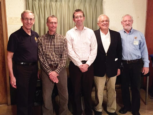 New Manitowoc Knights of Columbus members