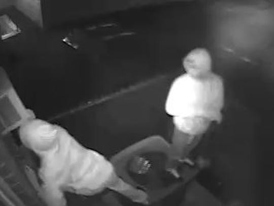 Two men broke into a Newport-area church and caused more than $10K in damages in mid-October.