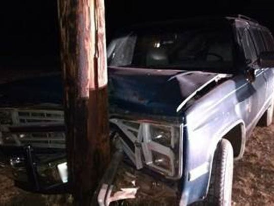 U.S. Border Patrol agents in Rio Grande City discovered 75 bundles of marijuana after they attempted to stop a vehicle for speeding. The vehicle stopped after hitting a utility pole, and the driver fled the scene.