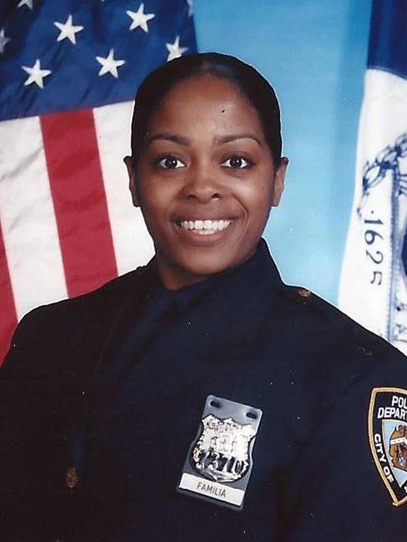 New York Police Department's Miosotis Familia, was
