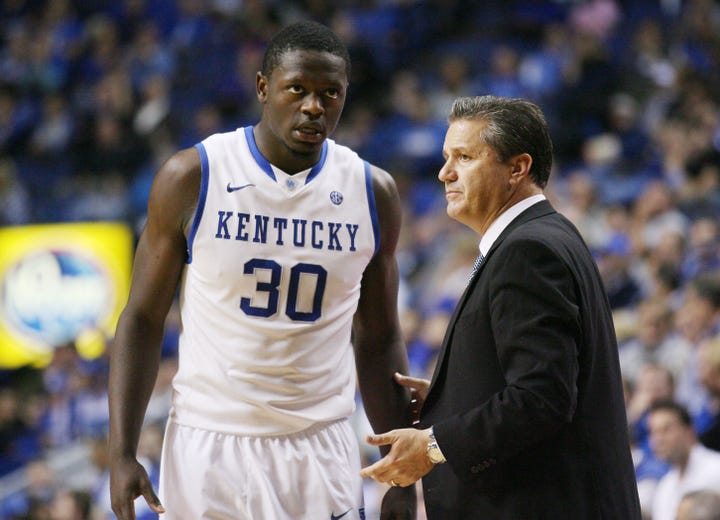 College basketball countdown: No. 1 Kentucky