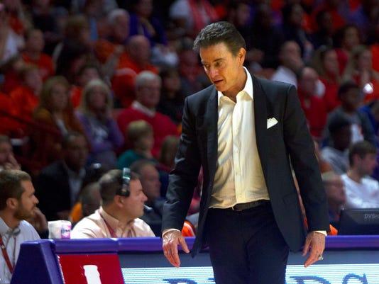 NCAA Basketball: Louisville at Clemson