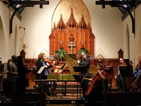 The Bach Parley will perform June 3 at St. John's Episcopal