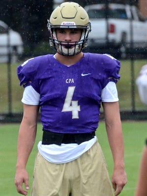 Christ Presbyterian Academy senior Kane Patterson is among the top ranked Nashville-area linebackers for the 2018 high school football season.