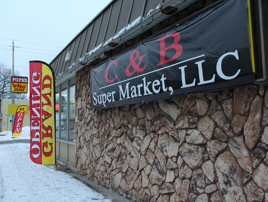 C & B Super Market opened earlier this month at 640
