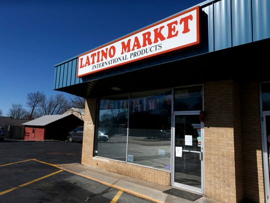 The Latino Market on St. Louis Street closed on Thursday,