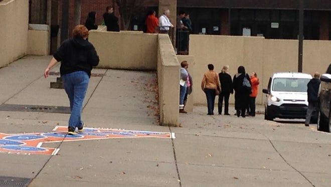 William Penn Senior High School dismissed early Thursday after a gun threat.